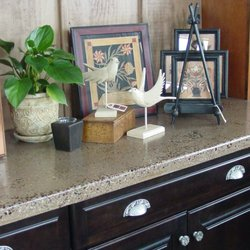 Photo Of Natural Encounters Appleton Wi United States Concrete Countertops Custom Made
