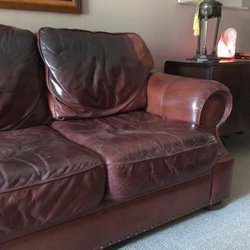 leather like new closed 23 reviews furniture reupholstery