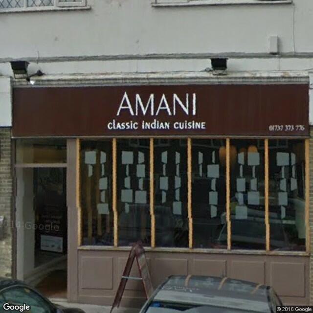 Amani Epsom Restaurant Reviews