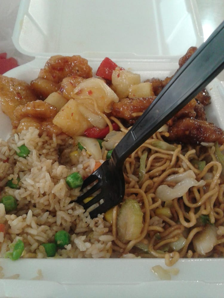 My plate yelp for Asian cuisine express