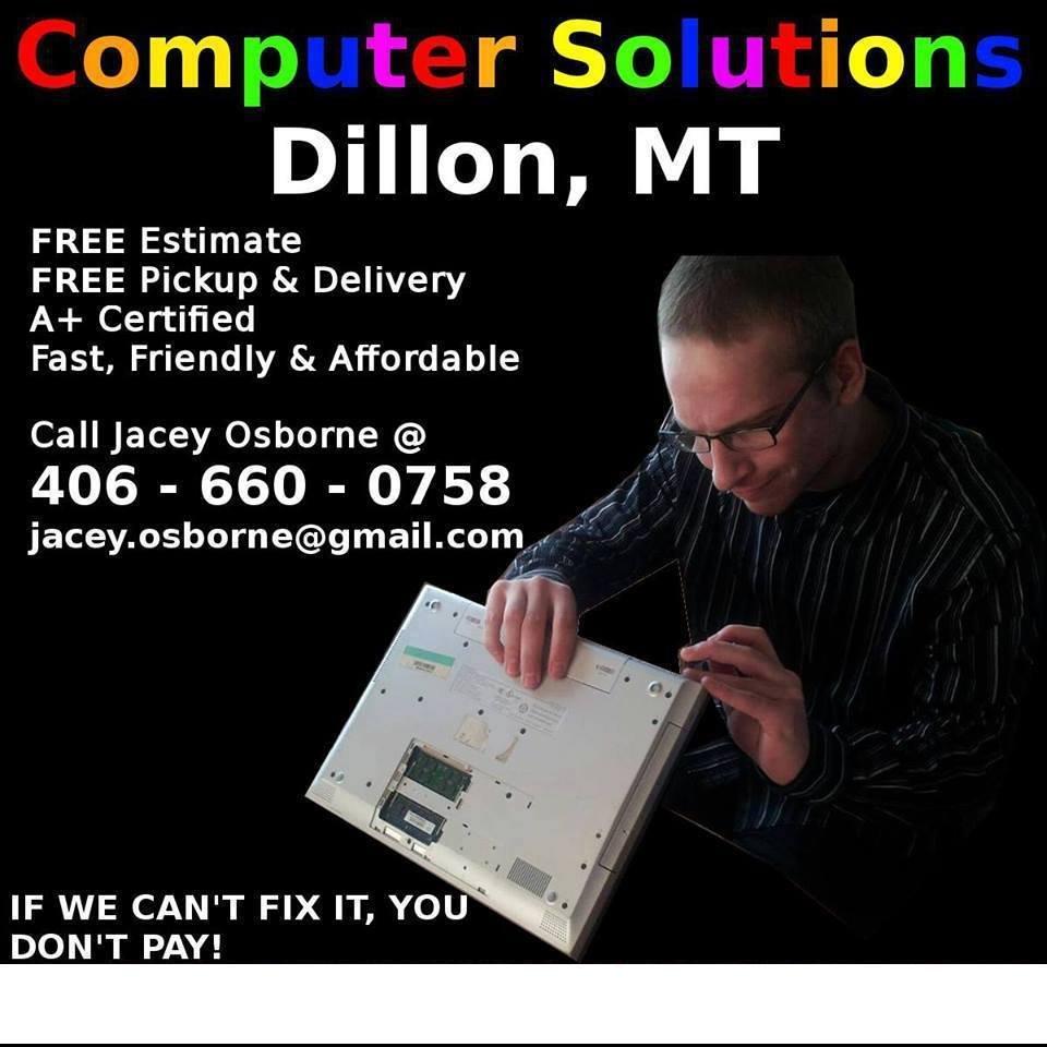 Computer Solutions: Dillon, MT