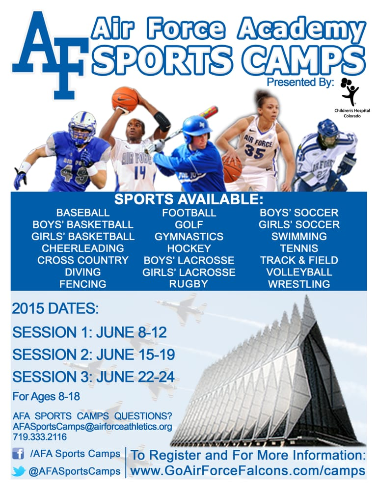 Air Force Academy Sports Camps