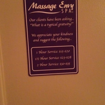 Rub and tug massage envy