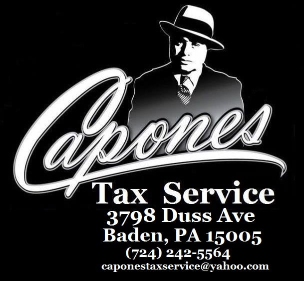 Capones Tax Service: 3798 Duss Ave, Baden, PA