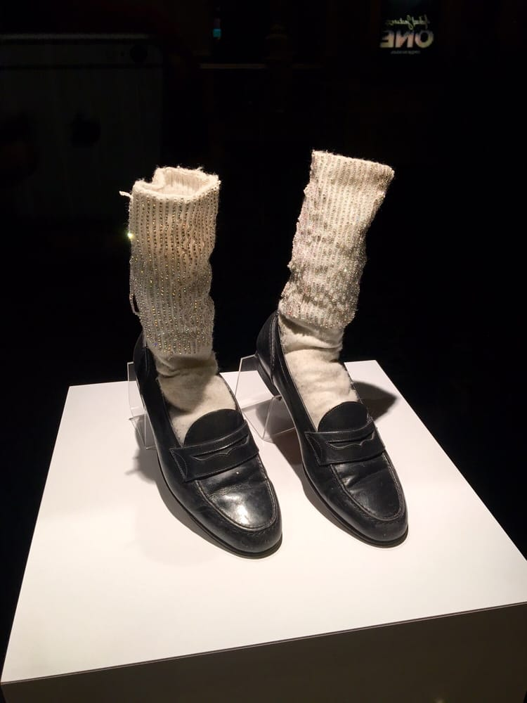 ... Micheal Jackson s shoes and socks Yelp 6360c3329
