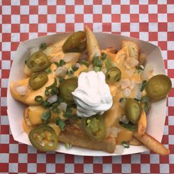 Food junkies food trucks 4233 n mississippi ave boise portland photo of food junkies portland or united states cheesy fries forumfinder Images
