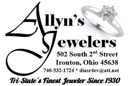 Allyn's Jewelers: 502 S 2nd St, Ironton, OH