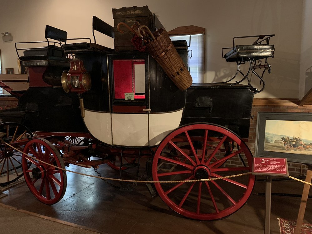 Thrasher Carriage Museum: 19 Depot Rd, Frostburg, MD