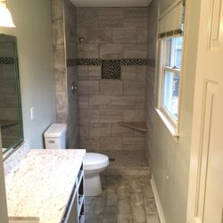 Photo Of Carolina Home Renovation   Matthews, NC, United States. Tiled  Shower With