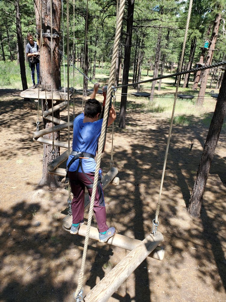 Social Spots from Flagstaff Extreme Adventure Course