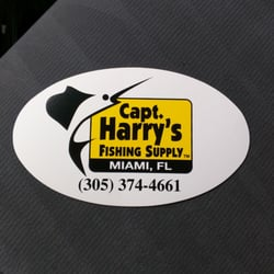 Capt harry s fishing supply 11 10 for Miami fishing supply