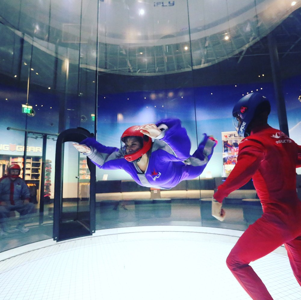 iFLY Indoor Skydiving - Baltimore: 8209 Town Center Dr, Nottingham, MD