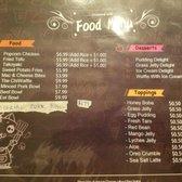 Photo of Tea Space Sunset Park - Las Vegas, NV, United States. Food & Dessert & Toppings Menu