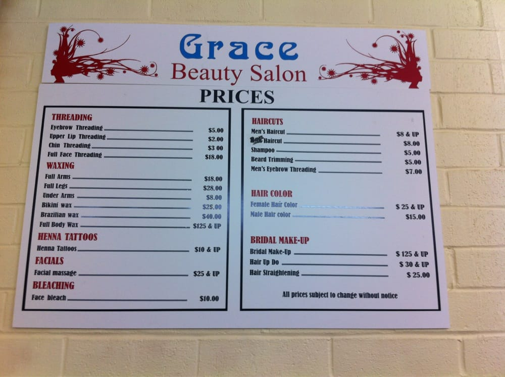 Grace beauty salon 11 photos 101 avis coiffeur for 101 beauty salon