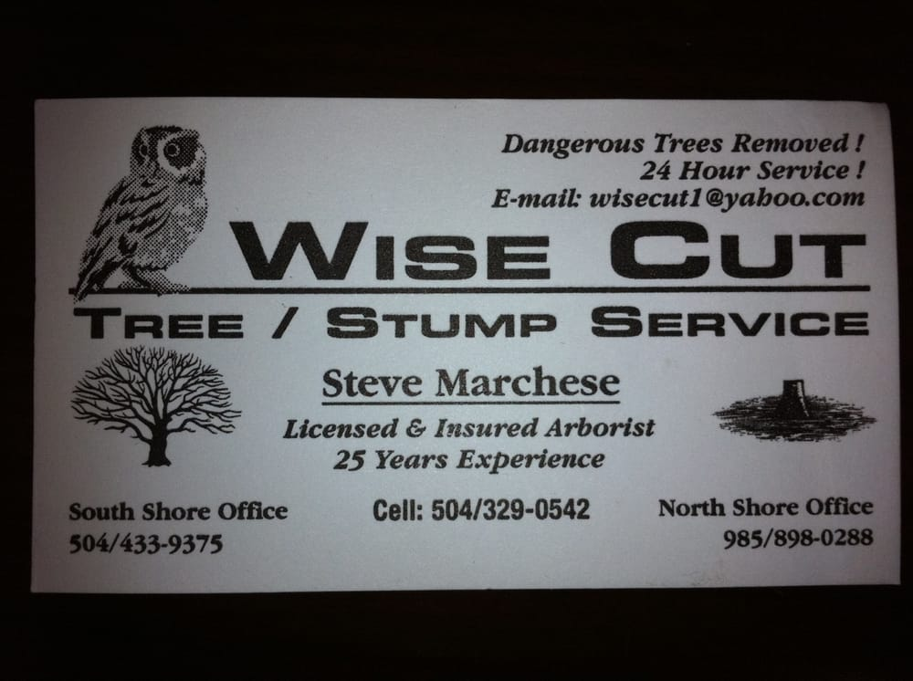 Wise Cut Tree Service