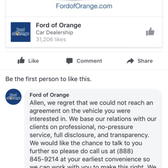 of wilson fordoforange s home villa id ford media david facebook orange