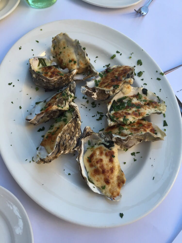 To Die For Oysters Parmesan Cheese Garlic And Spinach
