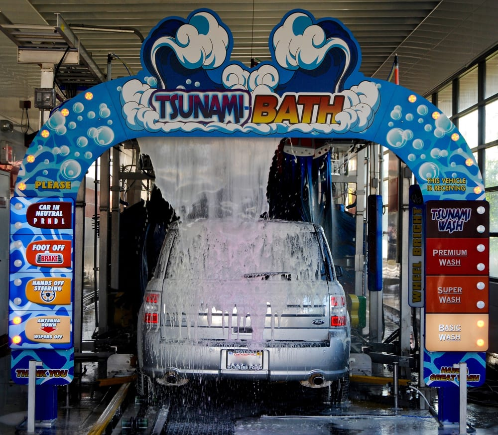 Tsunami Express Car Wash