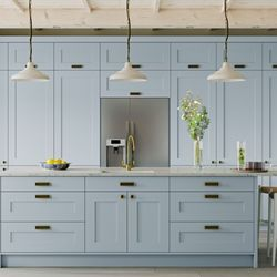 kitchen design bradford. Photo Of Designer Factory Kitchens  Bradford West Yorkshire United Kingdom Duck Egg Cabinetry Hodgson Lane