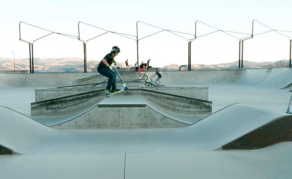 Lampe Skate Park: 1325 Waterloo Ln, Gardnerville, NV