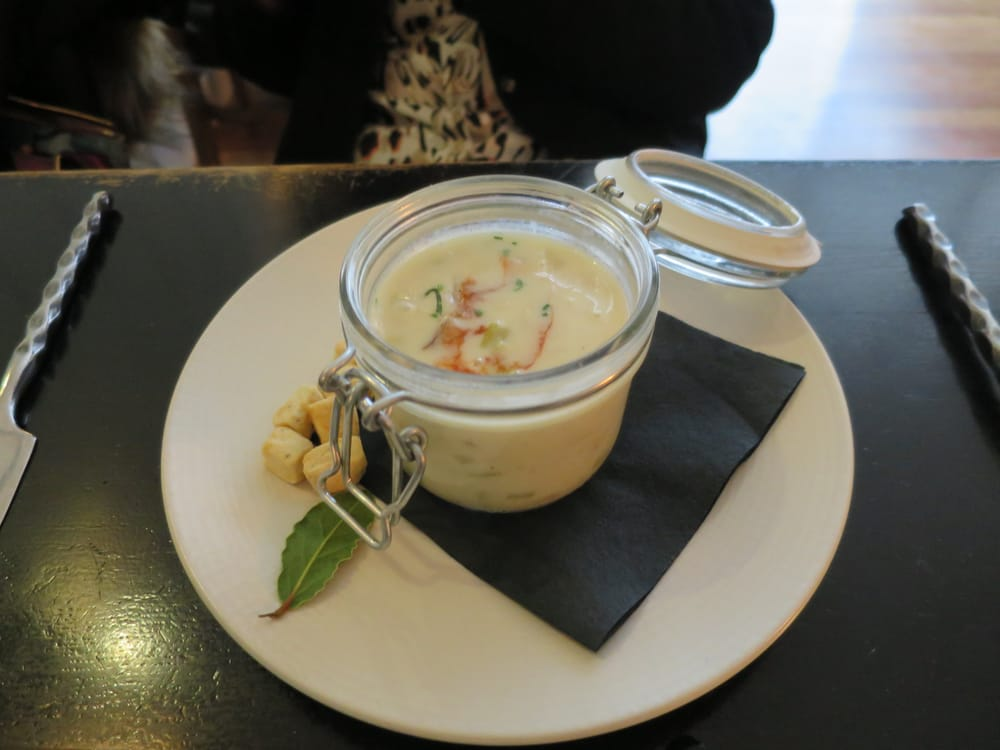 From rw 2016 lunch menu clam chowder yelp for Gt fish and oyster chicago