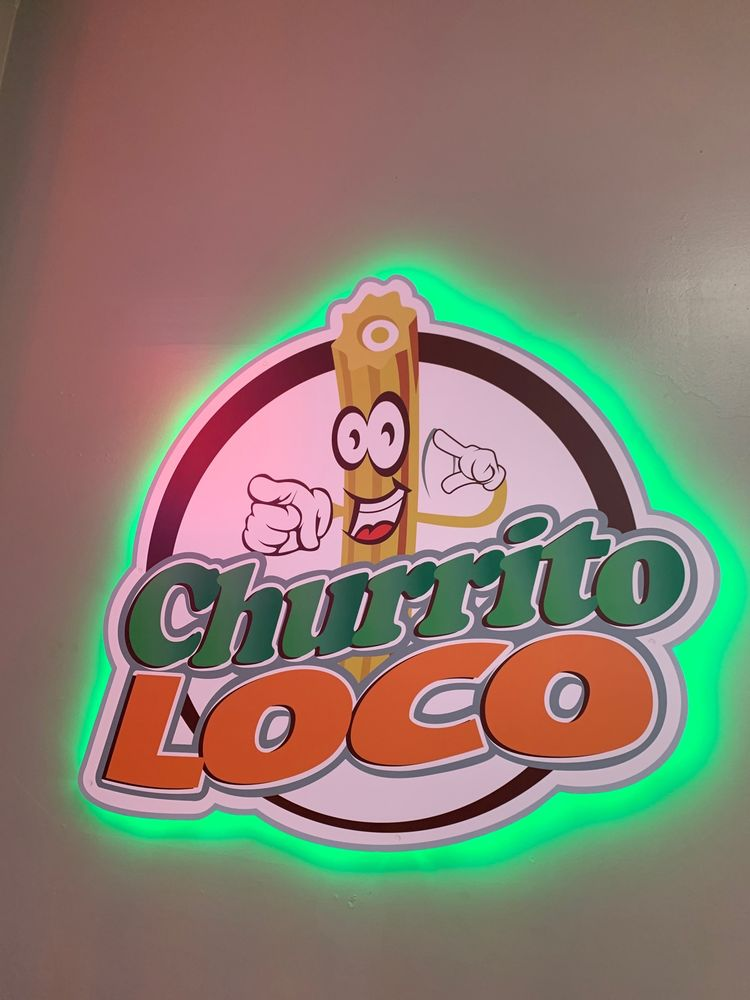 Churrito Loco: 1703 E Washington St, Colton, CA