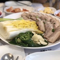 Photo Of Hanuri Korean Restaurant Garden Grove Ca United States Pork
