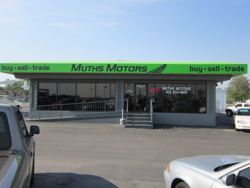 muths motors car dealers 6524 l st omaha ne united