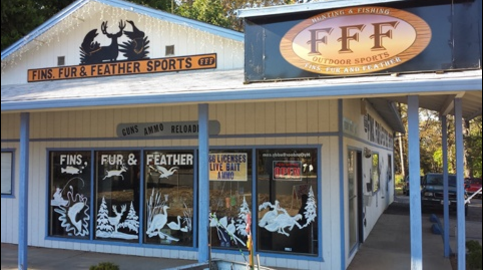 Fins Fur & Feather Sports: 1520 Bader Mine Rd, Paradise, CA