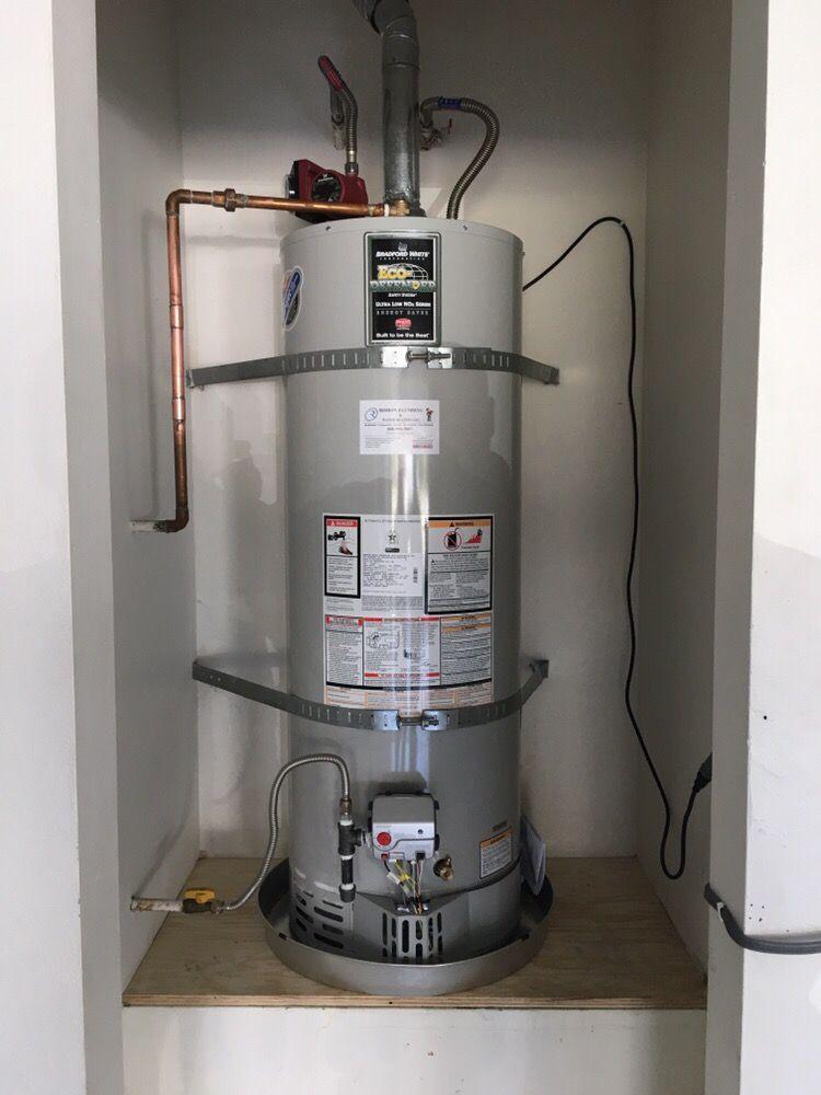 40 Gallon Bradford White Water Heater Replaced Yelp