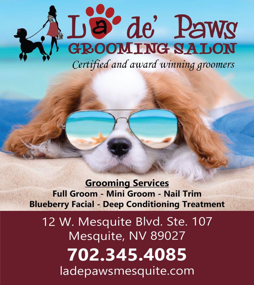 La de' Paws Grooming Salon and Boutique: 12 W Mesquite Blvd, Mesquite, NV
