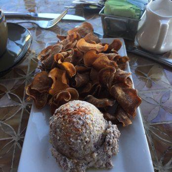 ... - Morganton, NC, United States. Boiled peanut hummus and chips