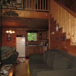 Photo Of Hemlock Retreat Cabin Rental   Slade, KY, United States. Looking In