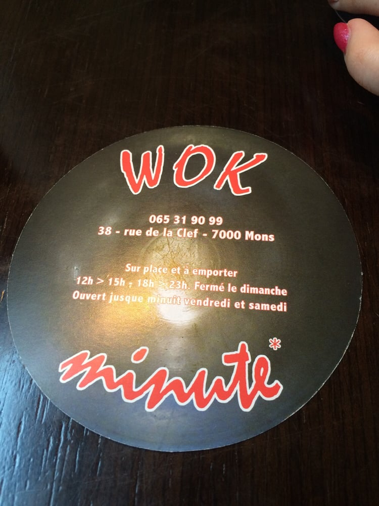 Photo Of Wok Minute