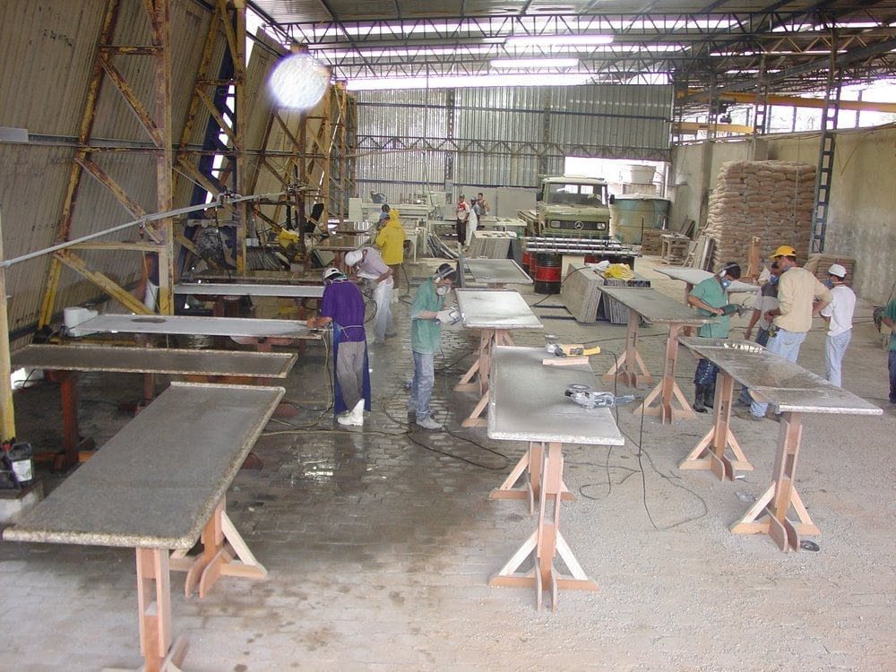 Florida Granite Fabrication shop - Yelp