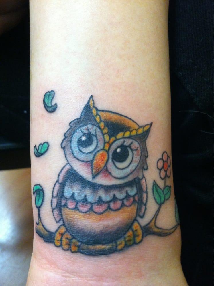 Cute little owl done by Joe Paul - Yelp