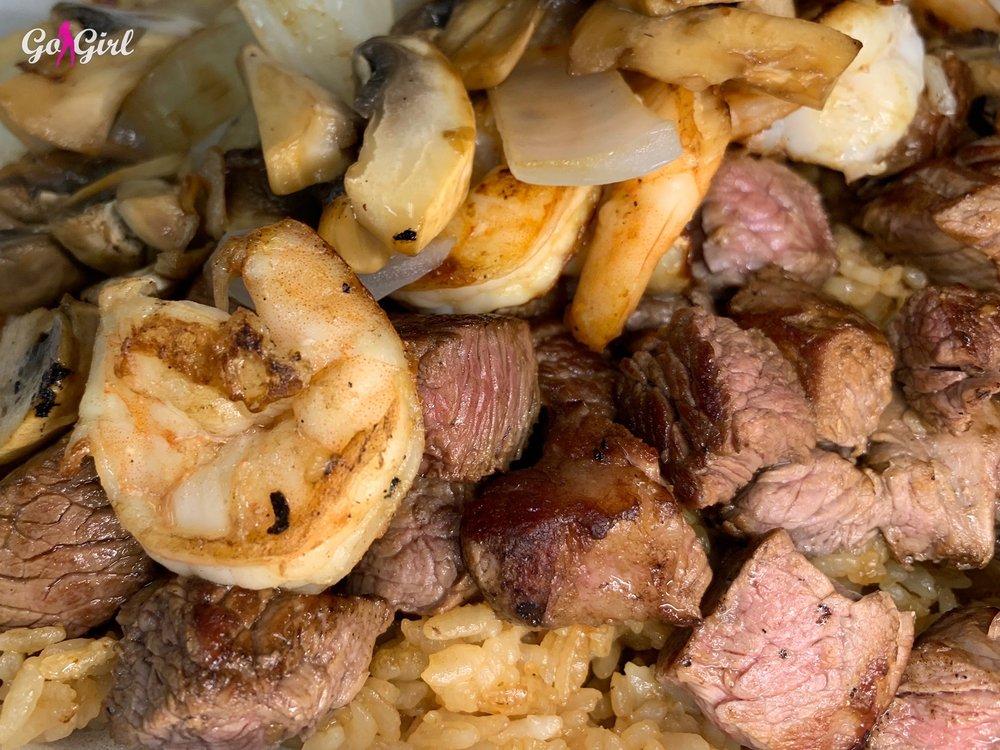 Hibachi Japanese Steakhouse Express: 138 Millstead Dr, Mebane, NC