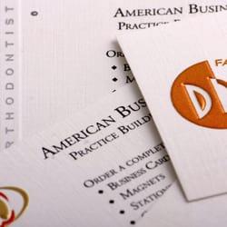 American business card print media 7400 e tierra buena ln photo of american business card scottsdale az united states professional foiling and colourmoves