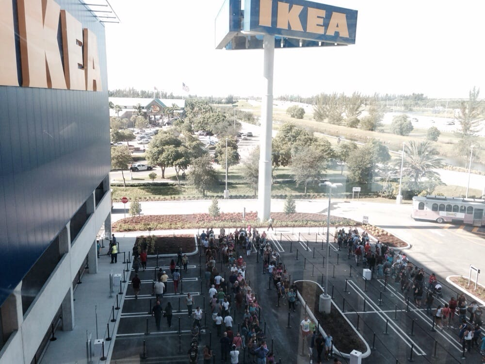 Opening day yelp for Restaurant ikea miami