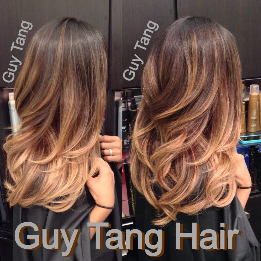 Ombr on asian hair by guy tang yelp for Guy tang salon
