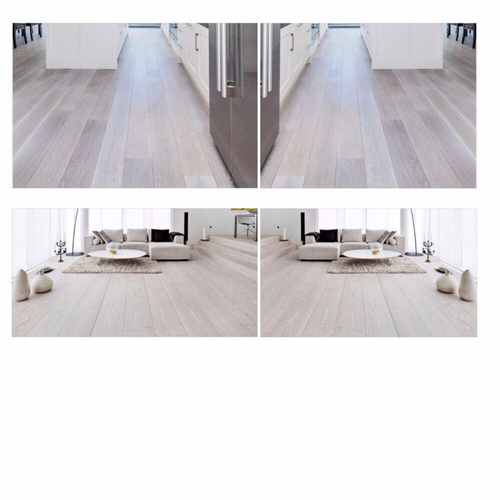 Wood floors beached and stained a custom color gray and for Hardwood floors jamaica