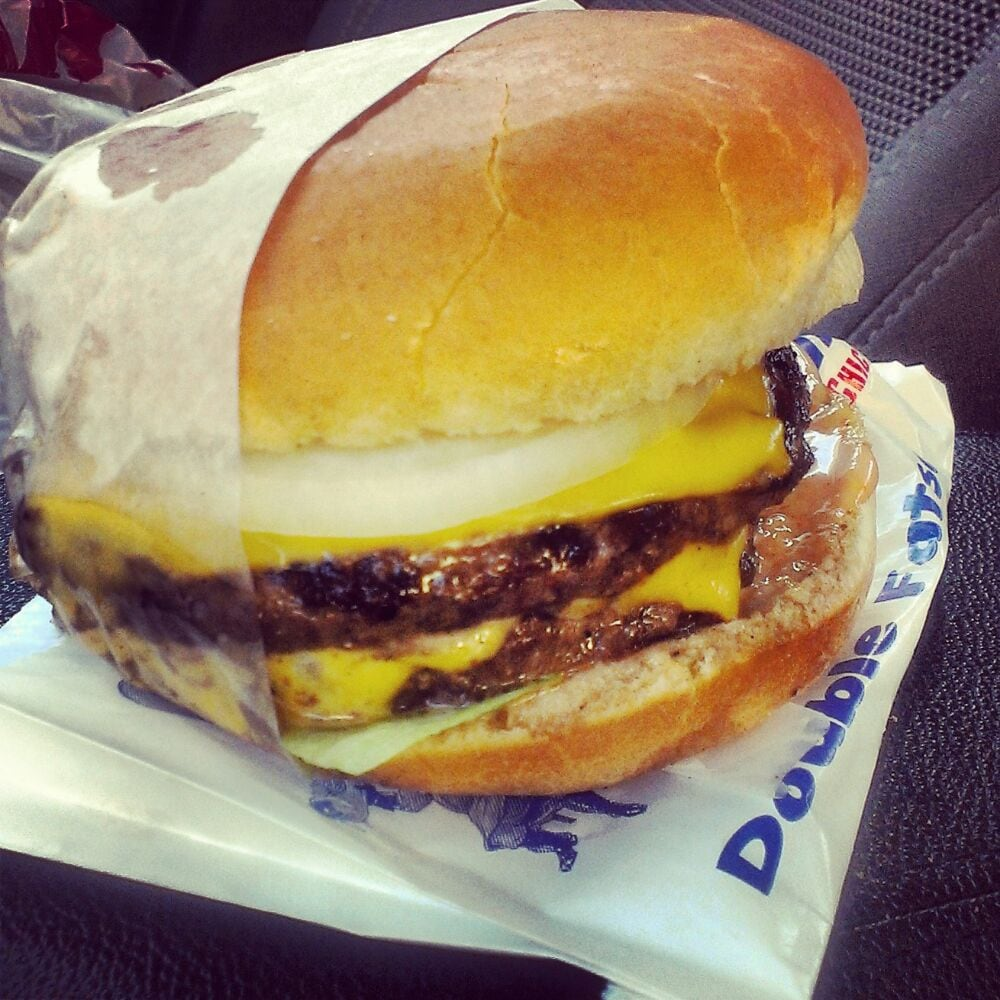 Double Fatso with Cheese  The closest to In-n-Out as you can
