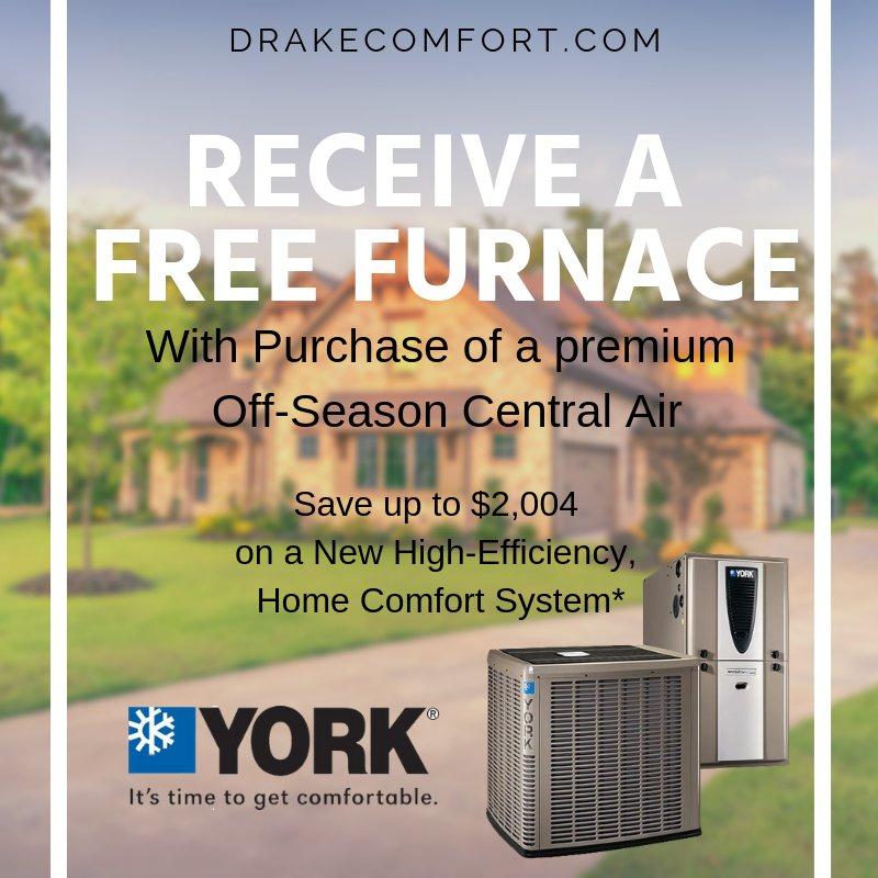Drake Heating & Air: 1417 E Main St, Eaton, OH