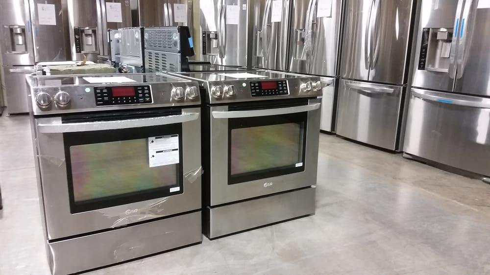Refrigerator Manufacturers Llc Mail: Brand New LG Stainless Steel Appliances. Half Price