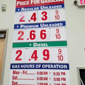 Price Of Gas Costco