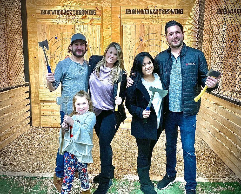 Ironwood Axe Throwing: 314 E Hickory St, Denton, TX