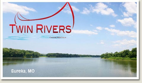Twin Rivers Canoe Rental: 8004 Twin Rivers Rd, Eureka, MO