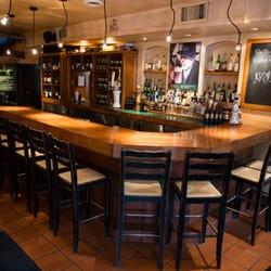 Nice bar at italian restaurant
