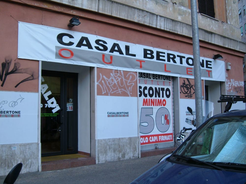 Casal Bertone Outlet