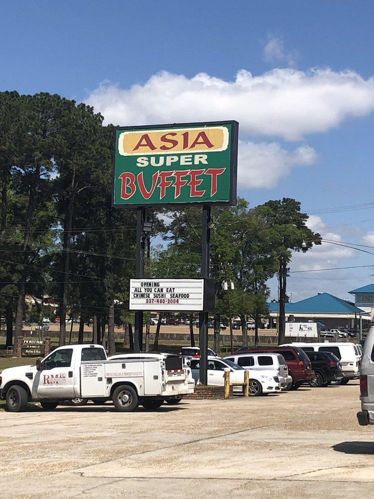 New Asia Buffet: 904 N Pine St, DeRidder, LA